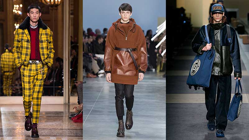 Mode kleuren trends man herfst winter 2018 2019