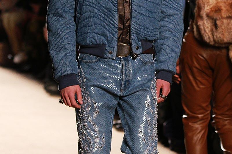Denim trends voor de man. Spijkerbroeken herfst winter 2018 2019