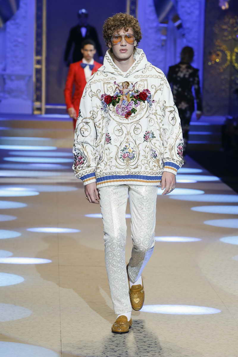 Dolce & Gabbana Man Herfst Winter 2018 2019