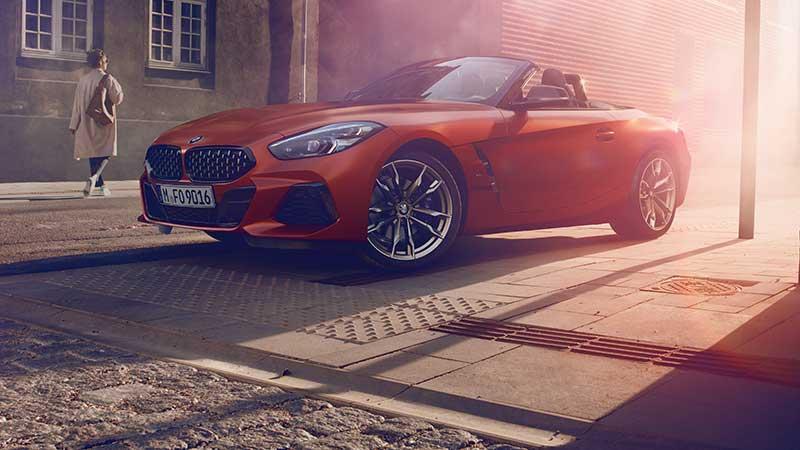 De roadster opnieuw gedefinieerd: wereldpremière van de nieuwe BMW Z4 in Pebble Beach