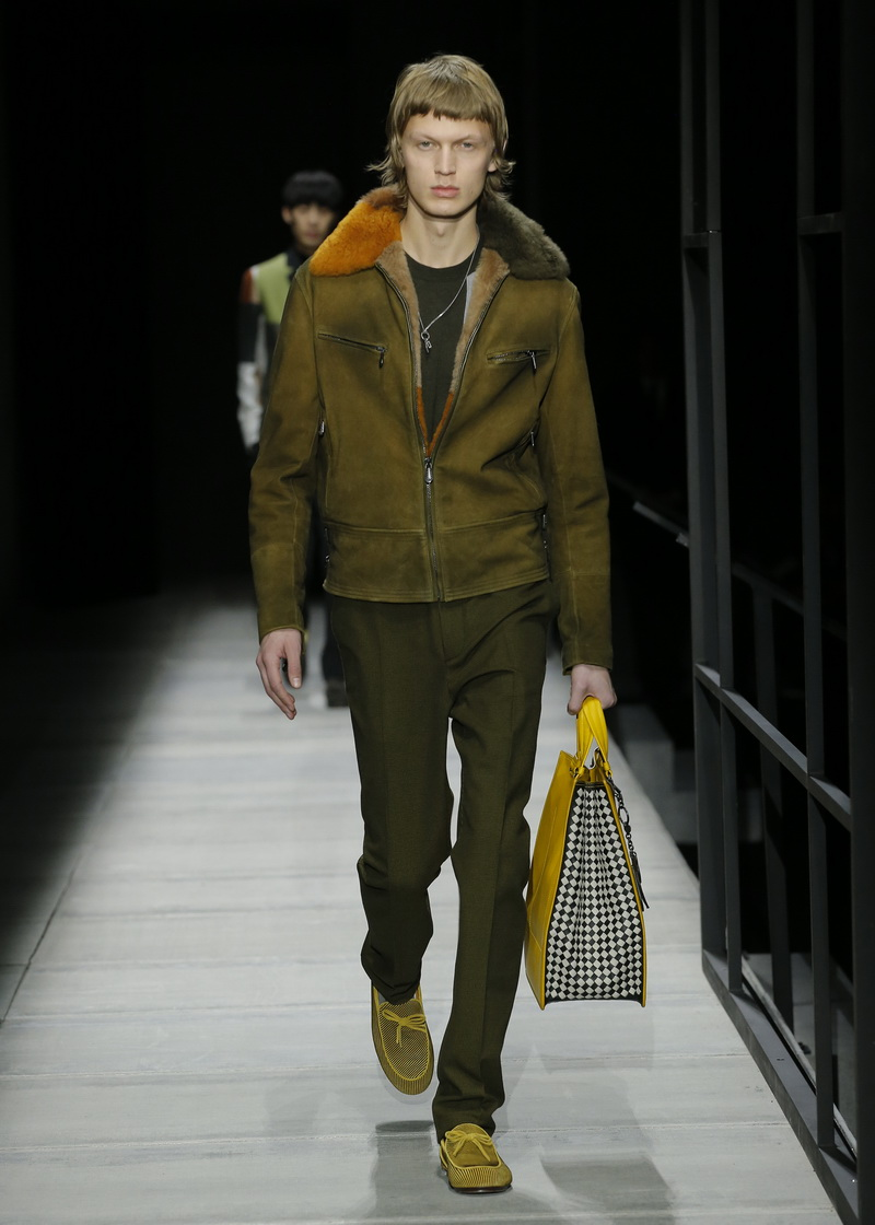 Winter mode man. Bottega Veneta herfst winter 2018 2019