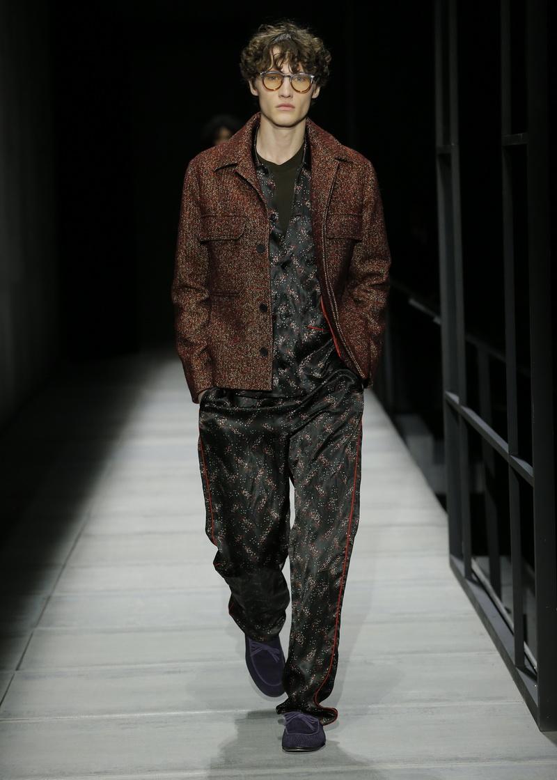 Winter mode man. Bottega Veneta herfst winter 2018 2019