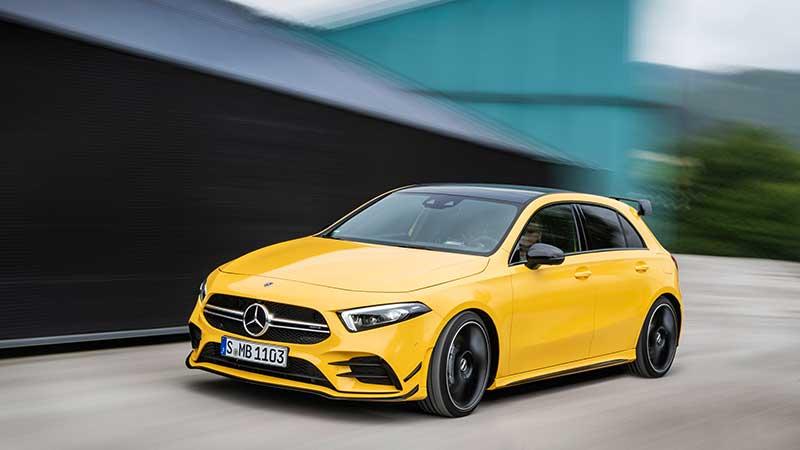 Mercedes-AMG A 35 4MATIC: nieuwe instap in de wereld van Driving Performance