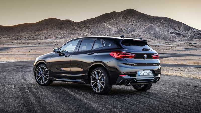 Nieuwe BMW X2 M35i: M DNA voor sterkste Sports Activity Coupe in het compacte segment