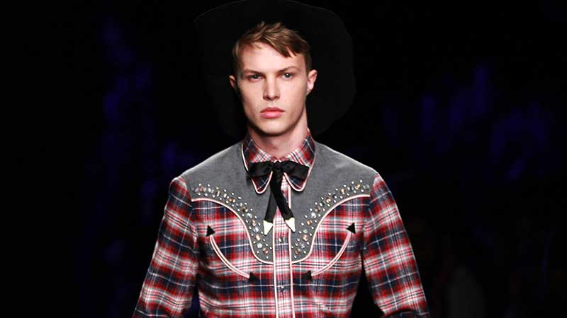 Mode trends man winter 2018. De cowboy look