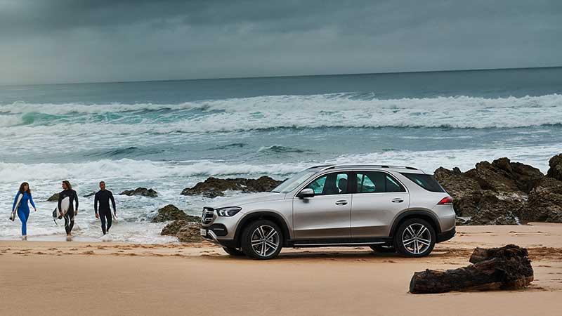 Mercedes-Benz GLE: nieuwe generatie van de SUV-trendsetter