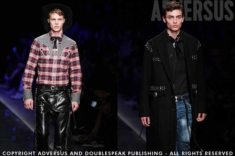 Country & Western en punk invloeden in de mode voor herfst winter 2018 2019