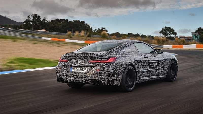 De laatste bocht op weg naar serieproductie: de nieuwe BMW M8