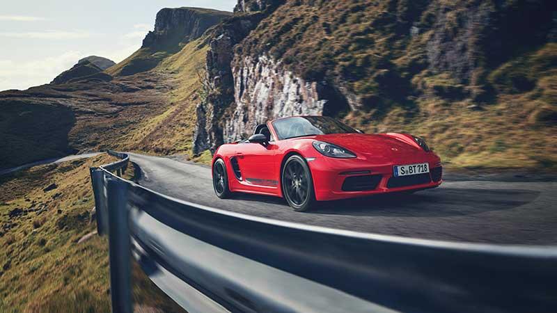 De nieuwe Porsche 718 T: de essentie van puur rijplezier