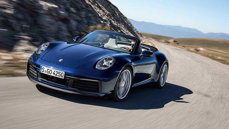 Porsche trapt openluchtseizoen af met nieuwe 911 Cabriolet