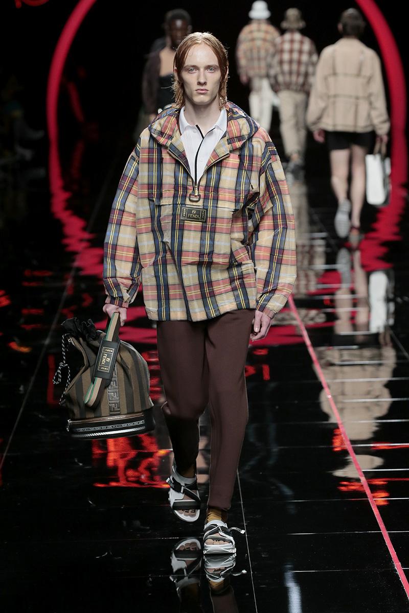 Modecollectie Fendi Man lente zomer 2019