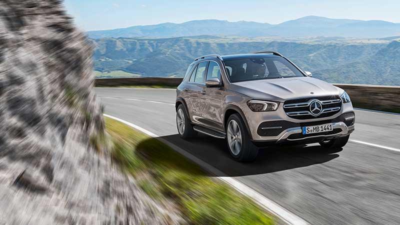 De nieuwe Mercedes-Benz GLE met zescilinder dieselmotor