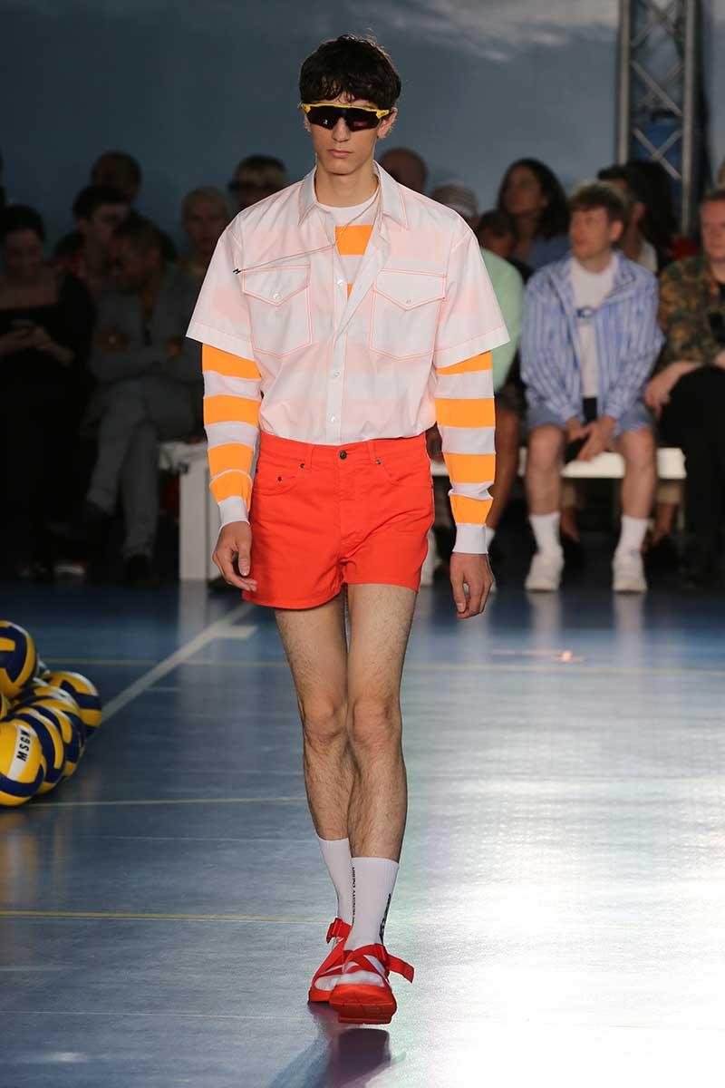 De nieuwe modekleuren man voor lente zomer 2019