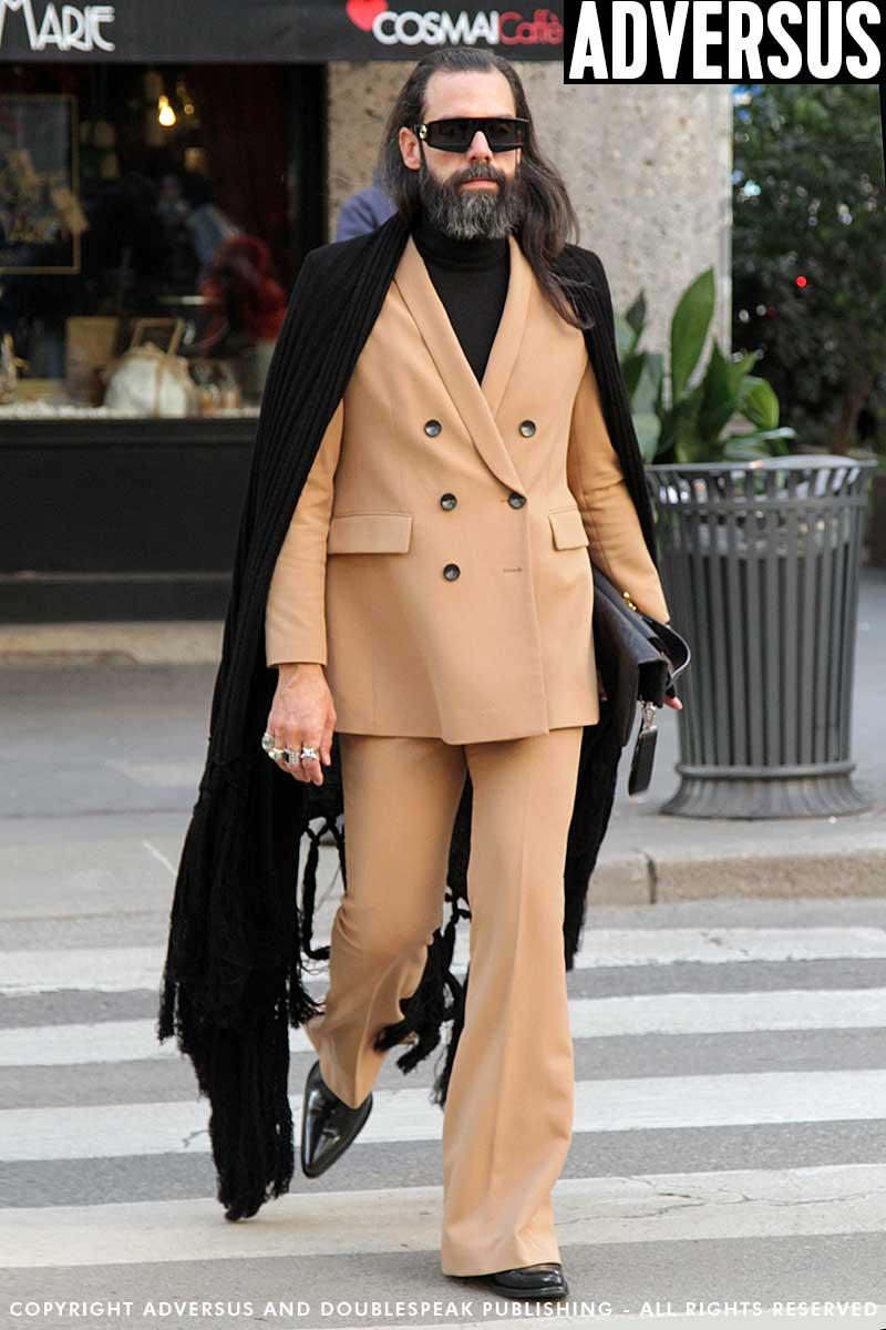 Milan Fashion Men herfst winter 2019 2020. 10 Streetstyle looks