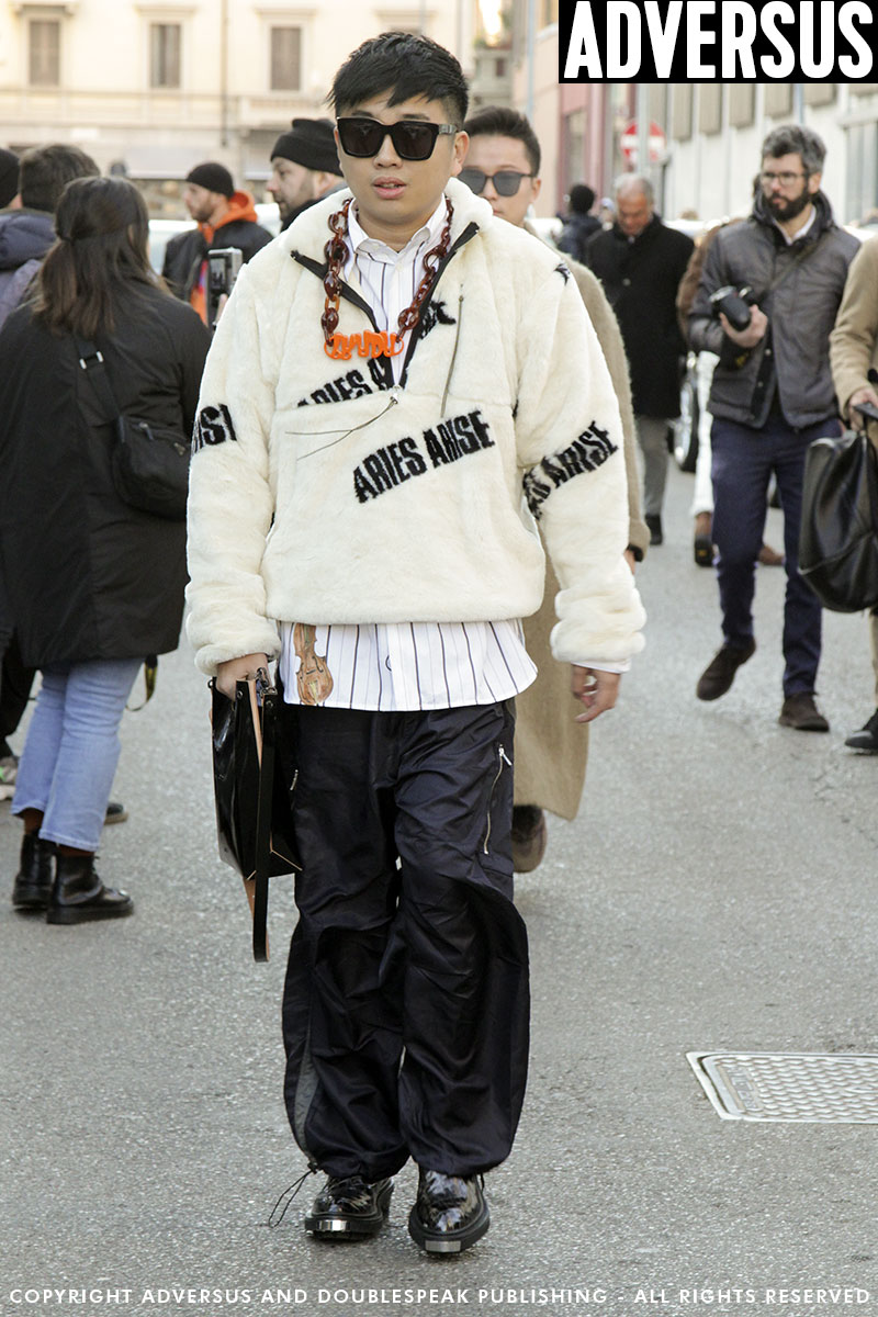 Milan Fashion Men herfst winter 2019 2020. 10 Streetstyle looks