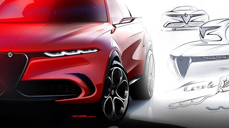 Alfa Romeo presenteert Tonale conceptcar: schoonheid en dynamiek met elektrisch vermogen