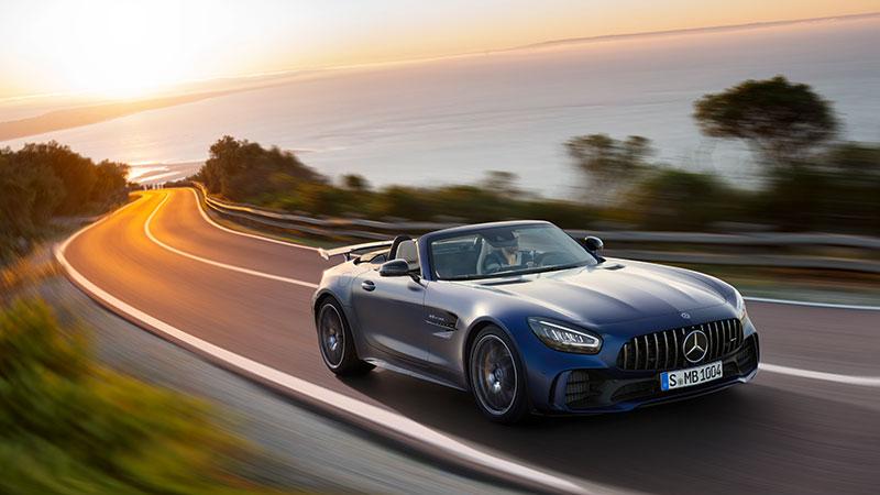 De nieuwe Mercedes-AMG GT R Roadster – petje af voor het beest van de Groene Hel