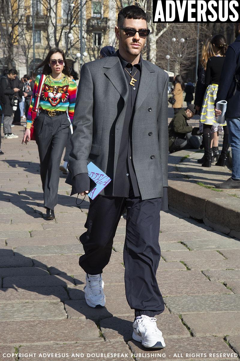 Street style mode man lente 2019. De blazer