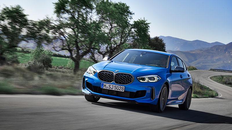 De nieuwe BMW 1 Serie. Derde generatie BMW 1 Serie wendbaarder, ruimer interieur en typisch BMW