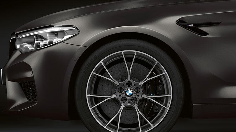 Maximale prestaties in exclusieve stijl: de BMW M5 'Edition 35 Jahre'