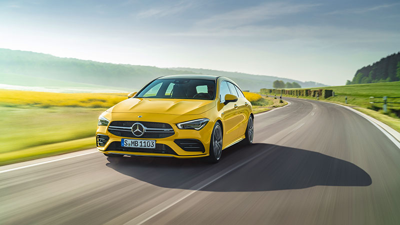 De nieuwe Mercedes-AMG CLA 35 4MATIC Shooting Brake