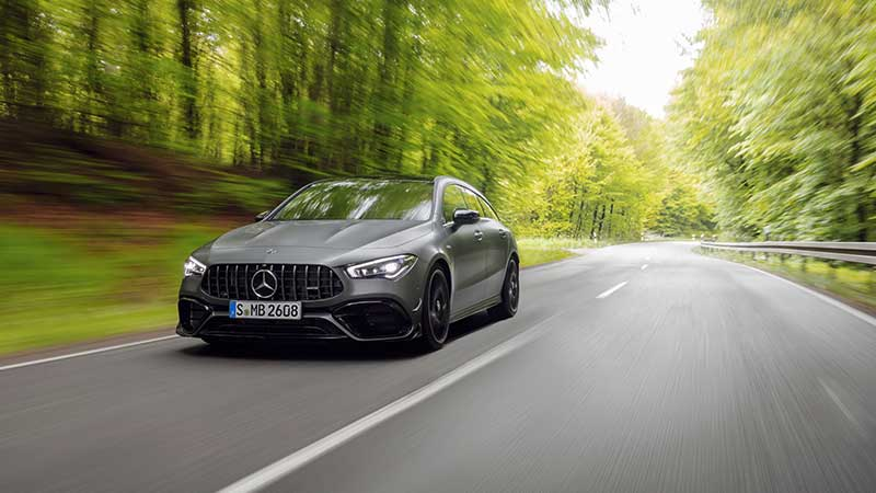 De nieuwe Mercedes-AMG CLA 45 4MATIC+ Shooting Brake