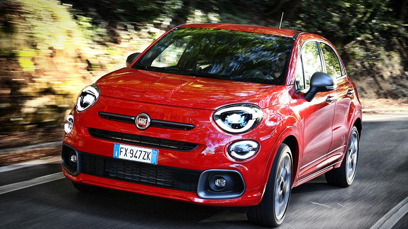 De nieuwe Fiat 500X Sport