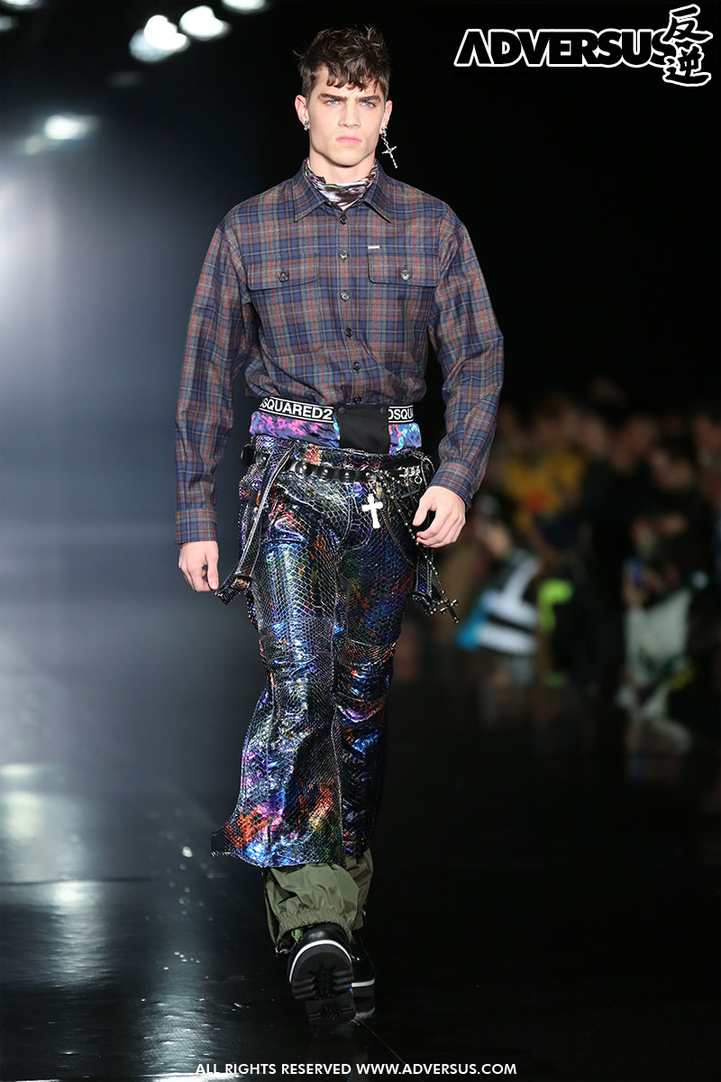 Dsquared2 Herfst Winter 2019 2020 - Foto Mauro Pilotto