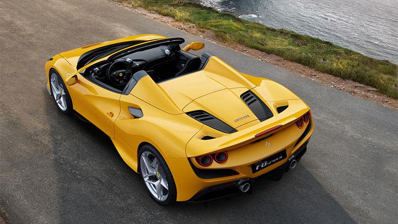 Ferrari F8 Spider: nieuwe open sportwagen met meest succesvolle Ferrari V8 ooit