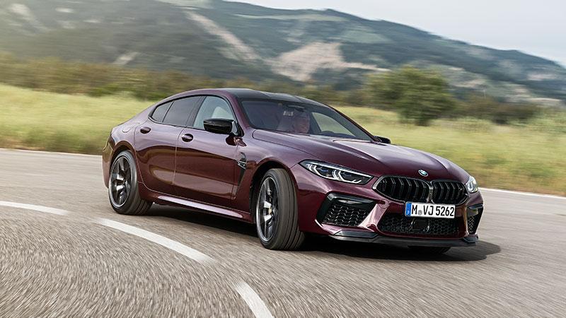 De nieuwe BMW M8 Gran Coupé en de BMW M8 Competition Gran Coupé