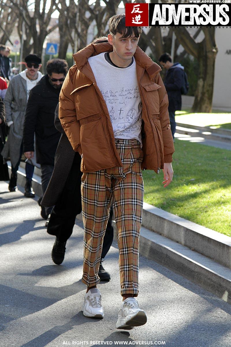 Streetstyle mode man winter 2019 2020. Stoer in ruiten!