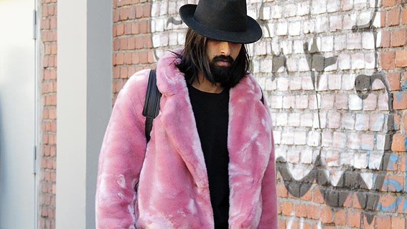 Streetstyle mode man winter 2019 2020. Winterjassen
