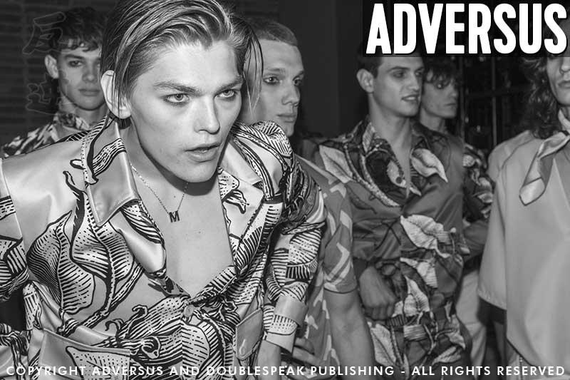 Mannenkapsels 2020. Backstage Miguel Vieira Zomer 2020 - Foto Charlotte Mesman