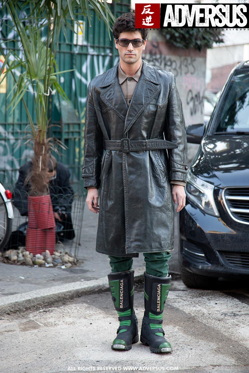 Streetstyle mode man winter 2020