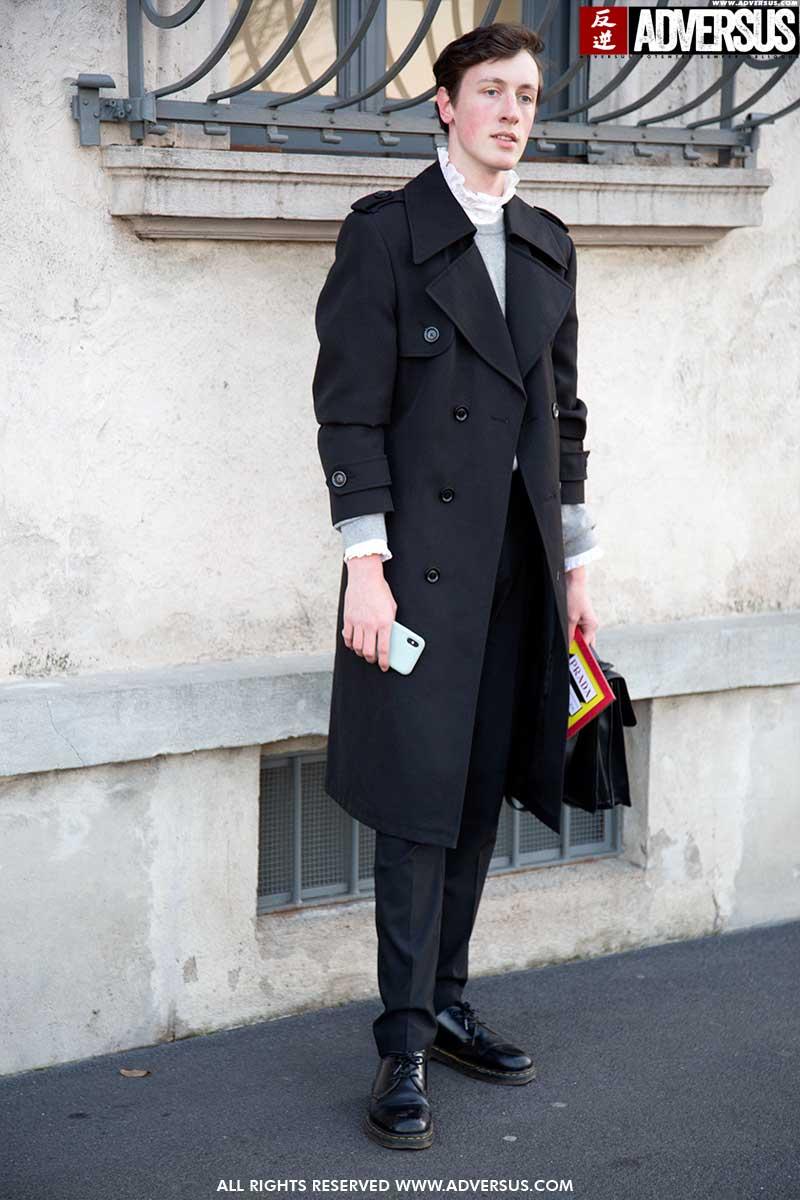 Streetstyle 2020. Nieuwe mode man