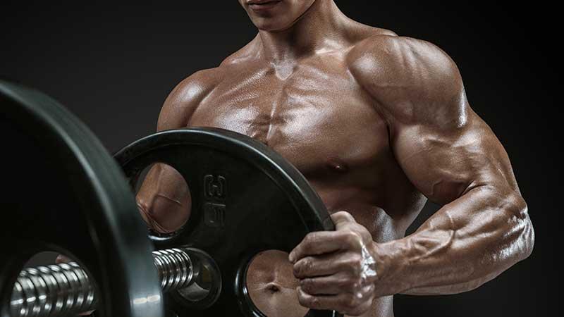 Borstspieren trainen