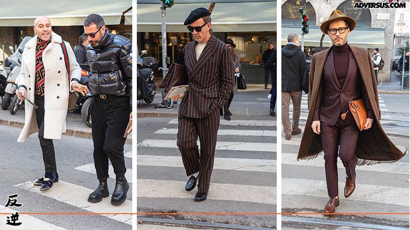 Street style man Milano 2020 - Foto Charlotte Mesman