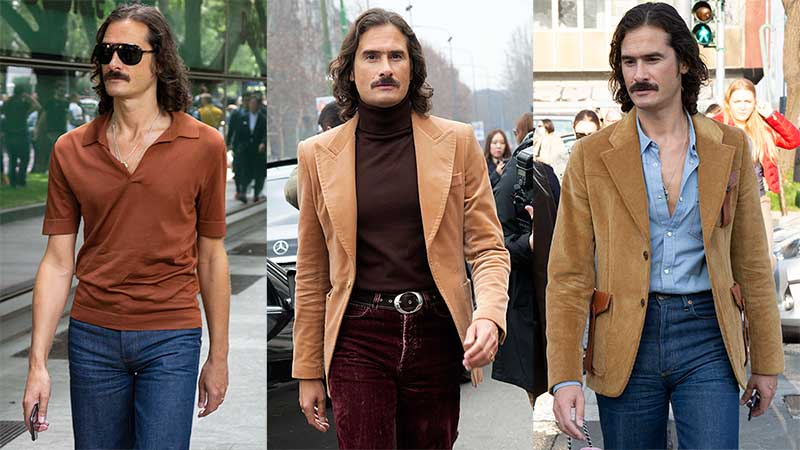 Modetrends man voorjaar 2020. Lang leve de seventies!