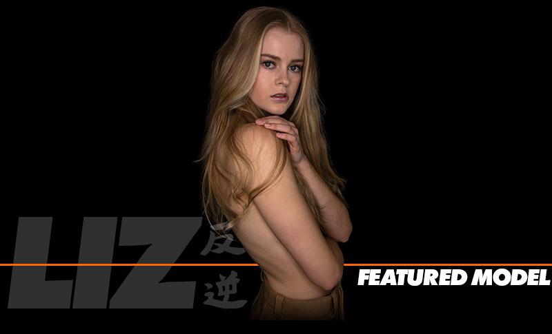 Liz - ADVERSUS Cover Model - Photo: Alessio Cristianini