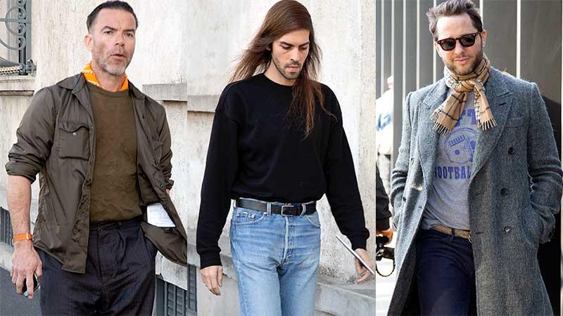 Streetstyle mode man voorjaar 2020