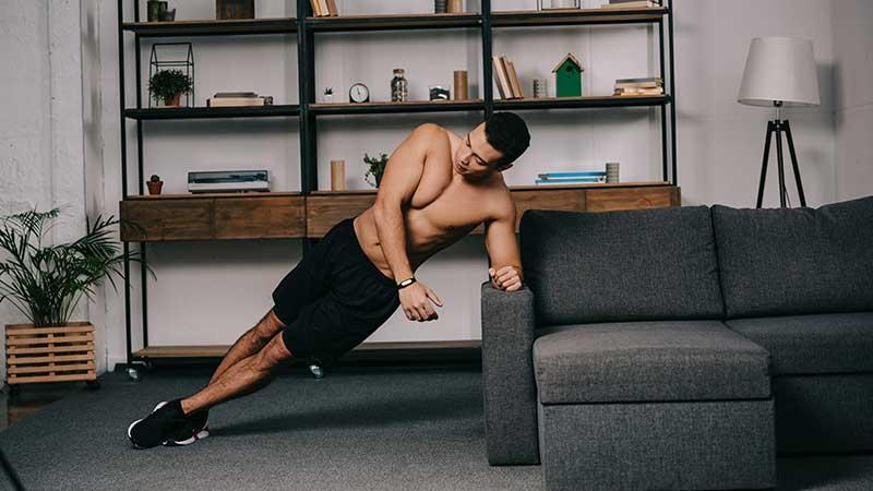 Thuis trainen en in vorm blijven