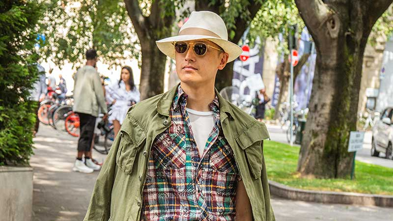 Mannen mode trends zomer 2020 - Hoed - Foto Charlotte Mesman