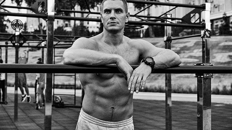 Een afgetraind lichaam met behulp van nieuwe trainingstechnieken