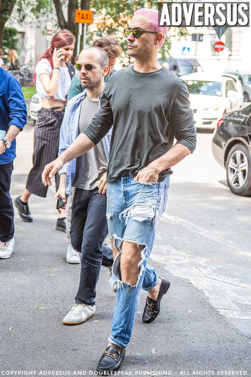 Mannen mode trends zomer 2020 - Jeans - Foto Charlotte Mesman