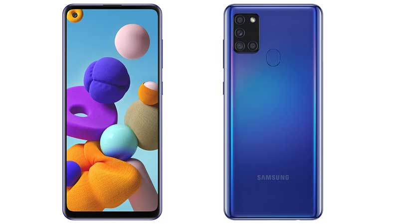 Samsung breidt Galaxy A-serie uit met gloednieuwe Galaxy A21s