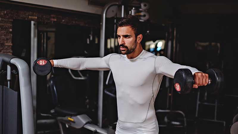 Last minute fitness: de schouders