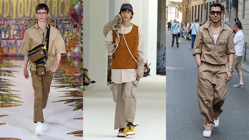 Modetrends man zomer 2020. 3x Outfits. 10 Modetrends