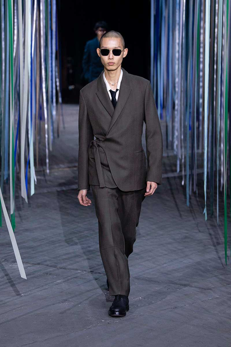 Modetrends man winter 2020 2021. Modeshow: Ermenegildo Zegna. Photo: courtesy of Zegna
