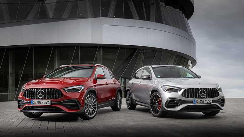 Mercedes-Benz maakt prijzen nieuwe Mercedes-AMG GLA-modellen bekend