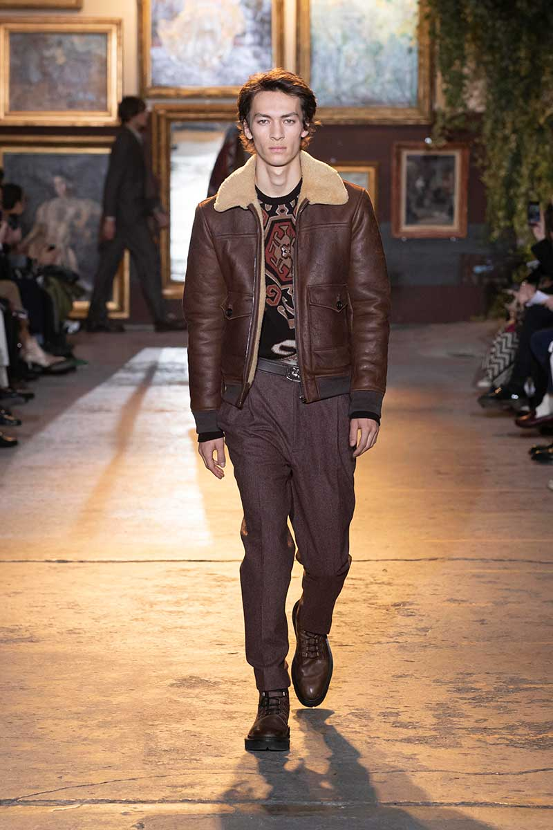 Modetrends man winter 2020 2021. Modeshow: Etro